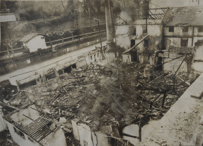 Incendio fábrica Arin y Embil Orio